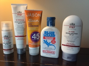 Sunscreen Favorites
